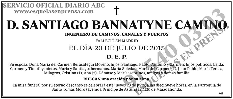Santiago Bannatyne Camino